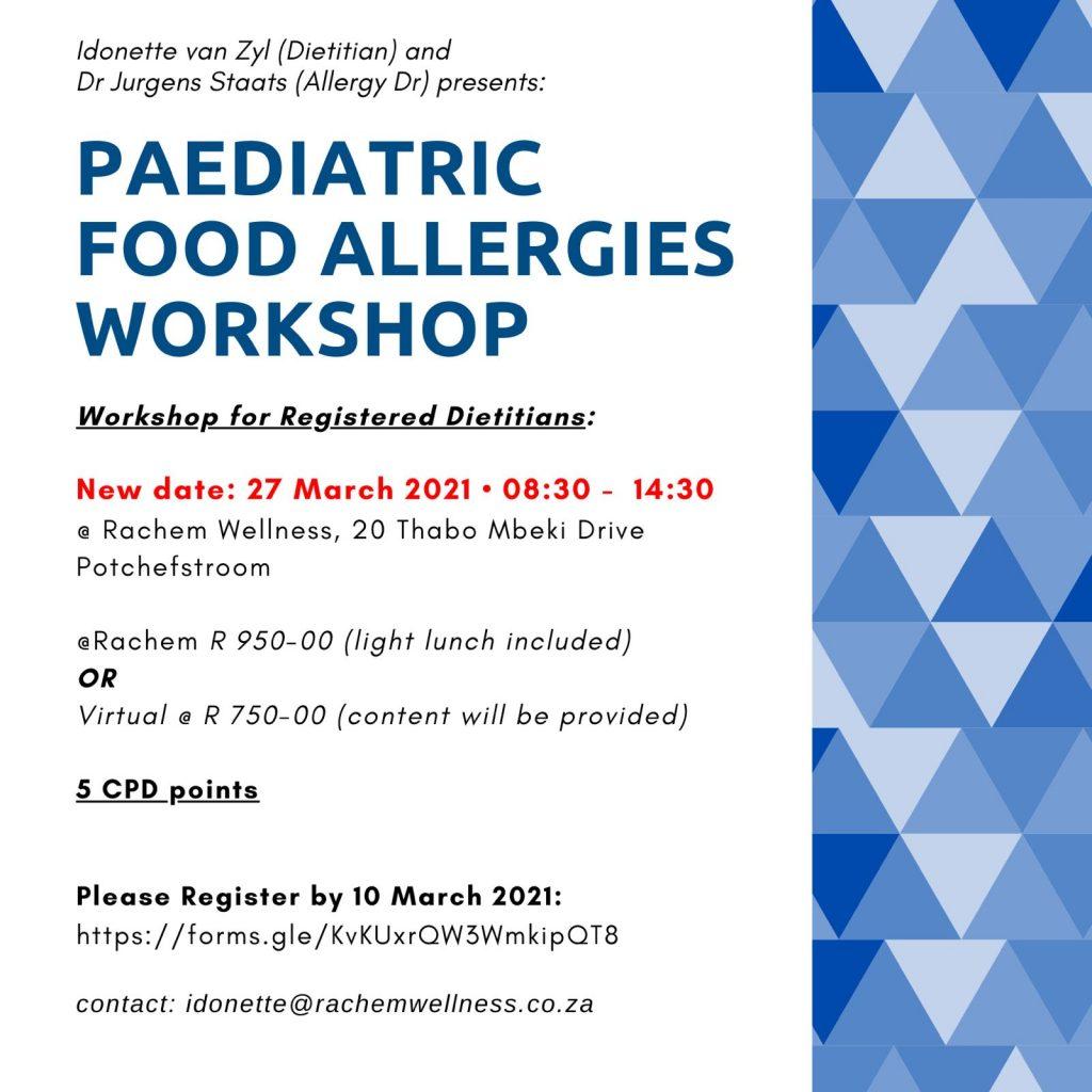 food allergy workshop rachem wellness